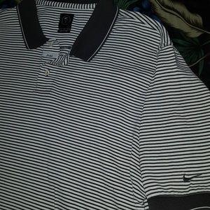 Striped Nike Golf Polo, Men's Large